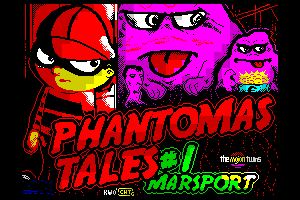 Phantomas Tales #1: Marsport by Kendroock