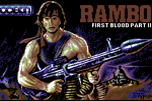 Rambo II loading pic by Sarge