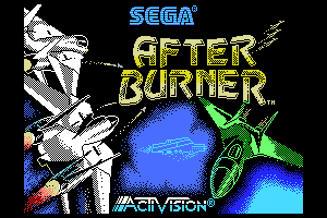 Afterburner - Loading screen