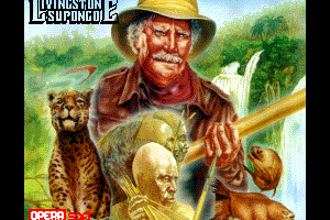 Livingstone Supongo for MSX2 - Loading screen remake by FRS