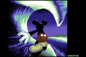 Mickey Mouse by Creeper