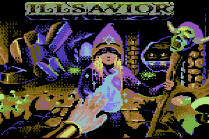 Illsavior Titlescreen by Rail Slave
