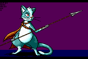 Cat Spear Fisher by Flygon
