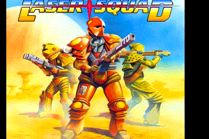 Laser Squad MSX2 loading screen by FRS