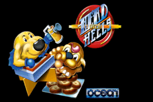 Head Over Heels loading screen MSX2+ remake by FRS