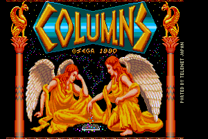 Columns 2nd title screen remake by FRS