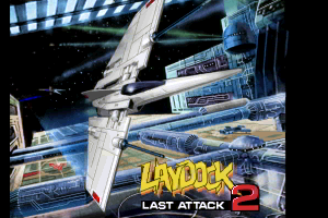 Laydock2 title screen remake by FRS