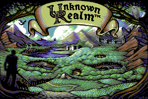 Unknown Realm Title Picture by Vanja Utne
