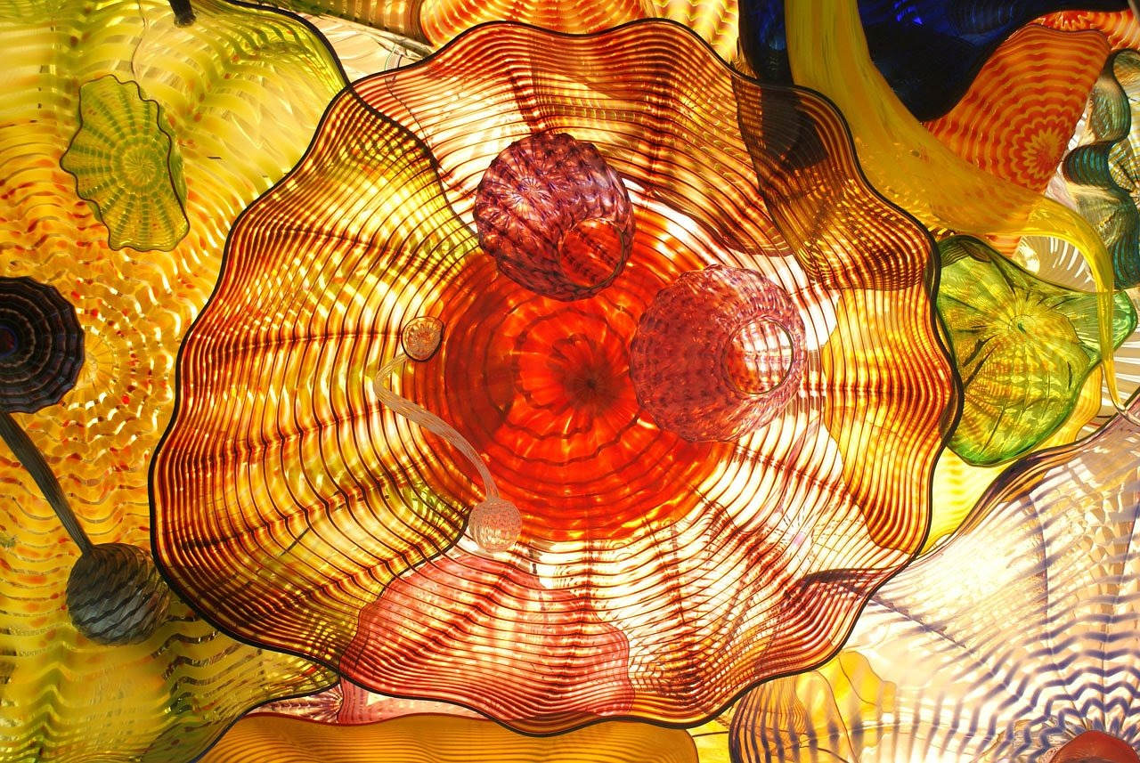 Image - glass art tacoma washington light